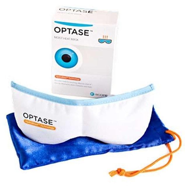 Optase Moist Heat Mask, £10.99, boots.com
