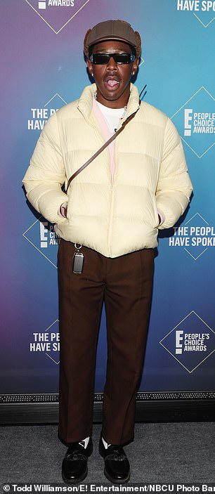 Tyler, The Creator pictured November 15