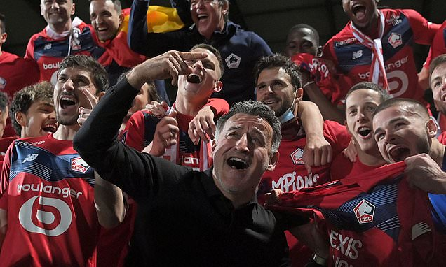 Lille boss Christophe Galtier quits just two days after beating PSG to the Ligue 1 title