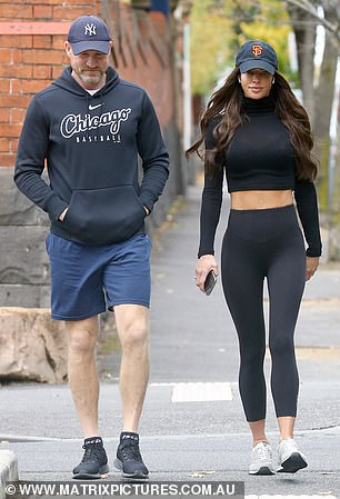 Like any other couple: 'They are just into normal stuff, yoga, natural health, keeping fit and staying positive,' the pal said
