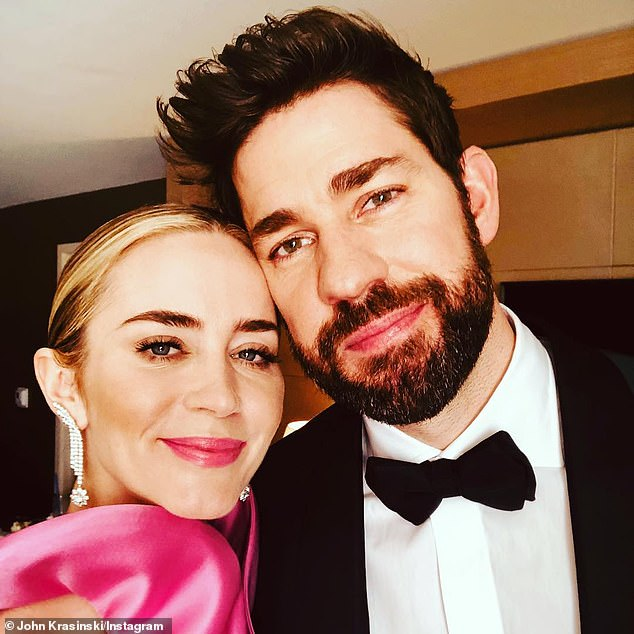 'I found the best collaborator of my entire life': John Krasinski gushed over wife Emily Blunt last week during a Q&A with Australian fans, as they celebrate the release of A Quiet Place Part II