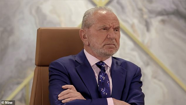 Another added: 'Are you guys surprised? All TV shows are like this.' Pictured is boss Lord Sugar