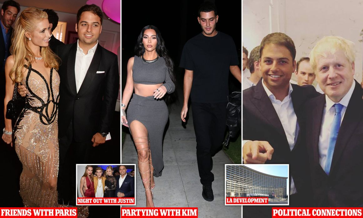 Kim Kardashian wants to party with 'mysterious' British property scion Jamie  Reuben   Daily Mail Online