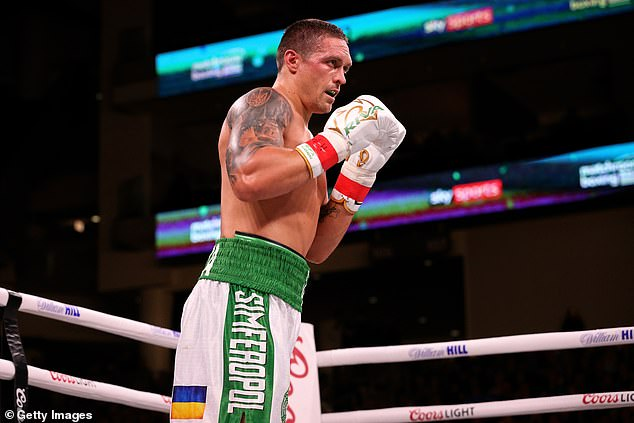 Usyk is yet to taste defeat as a professional but Joshua would be a huge step up in quality