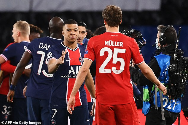 PSG beat Bayern Munich on away goals after their quarter-final tie finished 3-3 on aggregate