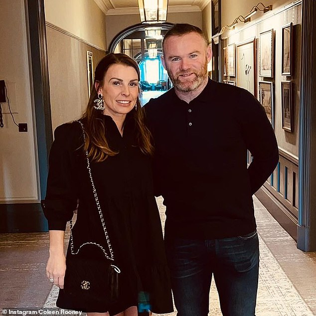 Dinner date:The couple enjoyed a luxury mini break to Scotland, celebrating the end of the football season and the ease of lockdown restrictions with a luxurious stay at the five-star hotel
