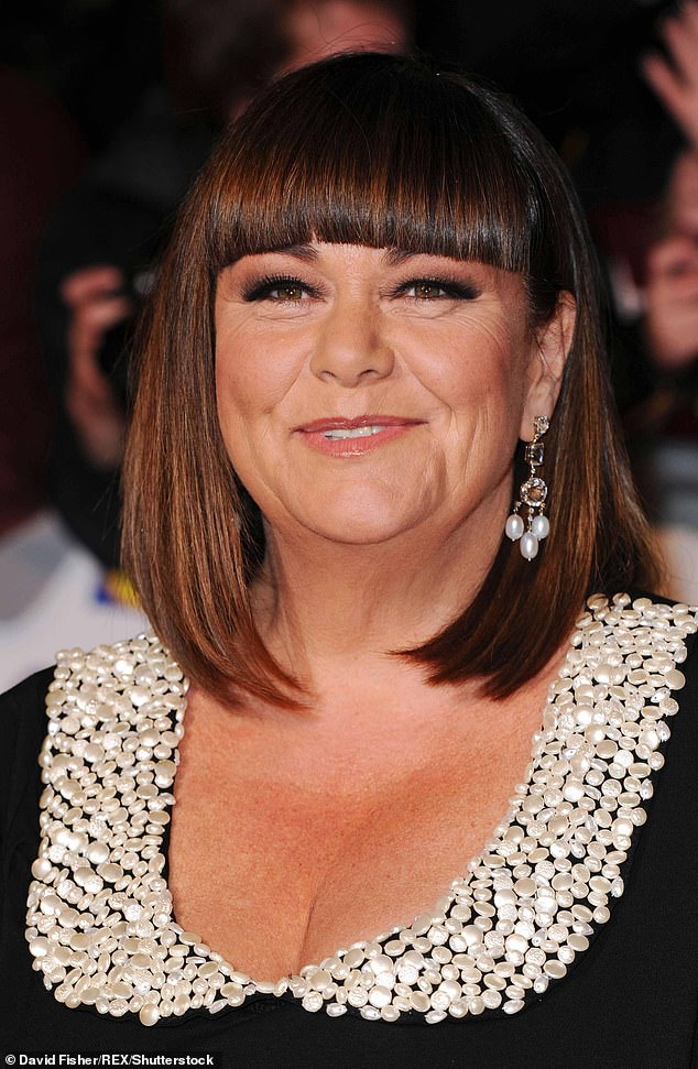 Tough: In 2014, Dawn revealed the real reason behind her weight loss and said she needed to have a hysterectomy following a cancer scare