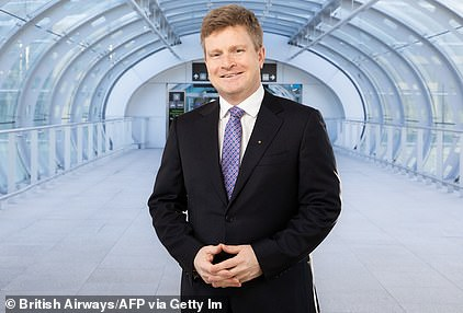 British Airways boss Sean Doyle (pictured above) said an 'islands policy' was crucial for getting tourism back up and running and unlocking holidays for millions of Britons
