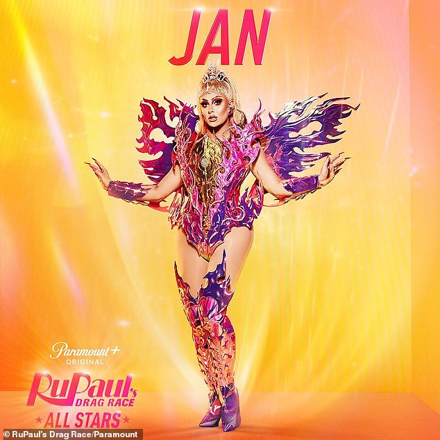 Back so soon? And at 27, Jan is the youngest queen on season six, having only just placed eighth during RPDR season 12 last year