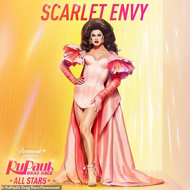 Rare: Another season 11 alum, Scarlet Envy is famous for looking just a stunning in drag as out