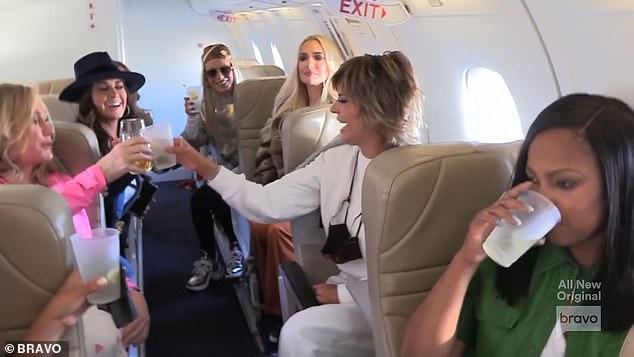 Road trip: Lisa Rinna organized the fun getaway to Lake Tahoe amid the coronavirus pandemic