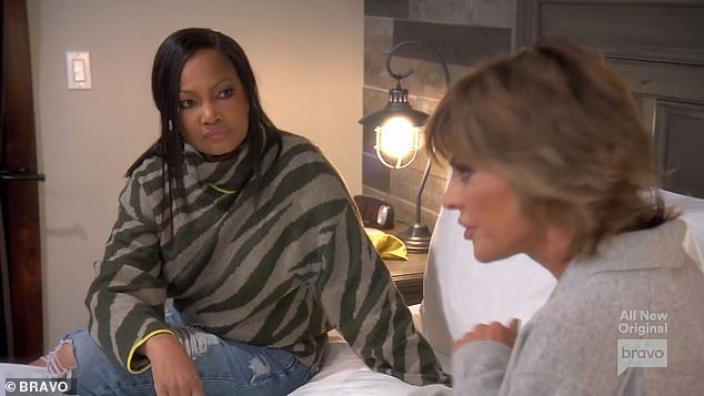 Good questions:'How do I trust having a relationship with you?' Garcelle asked Lisa. 'How do I trust telling you something that I'm feeling… and not knowing that it's going to backfire?'