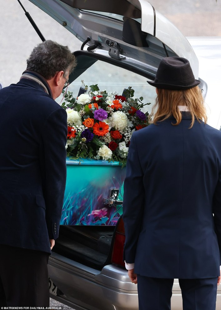 Lauren's family said their farewells surrounded by her peers, friends and members of the community who were touched by their loss
