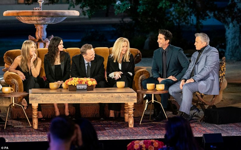 Could we BE anymore excited? The long-awaited Friends Reunion finally made its debut on Thursday, with the sitcom's cast heading back to the iconic set to reminsce on the show's history, 17 years since its conclusion