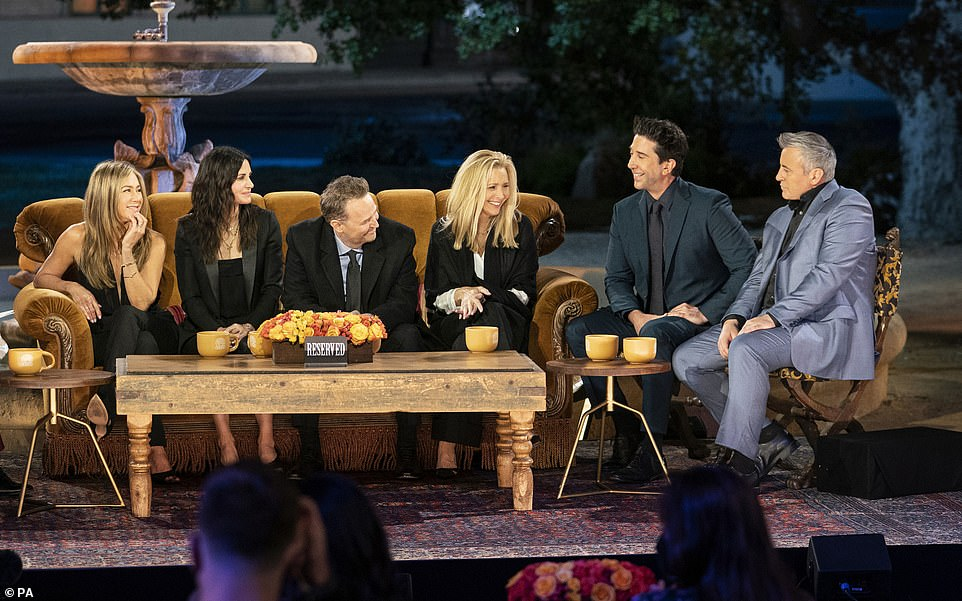 At last!The long-awaited Friends Reunion finally made its debut on Thursday, with the sitcom's cast heading back to the iconic set to reminsce on the show's history, 17 years since its conclusion