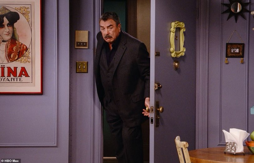 Richard's back!Among questions asked were the ever-illustrious title of Chandler's job as well as identifying the lyrics to Ross' barbershop quarter performance for Rachel, and even featured surprise apprances from Tom Selleck