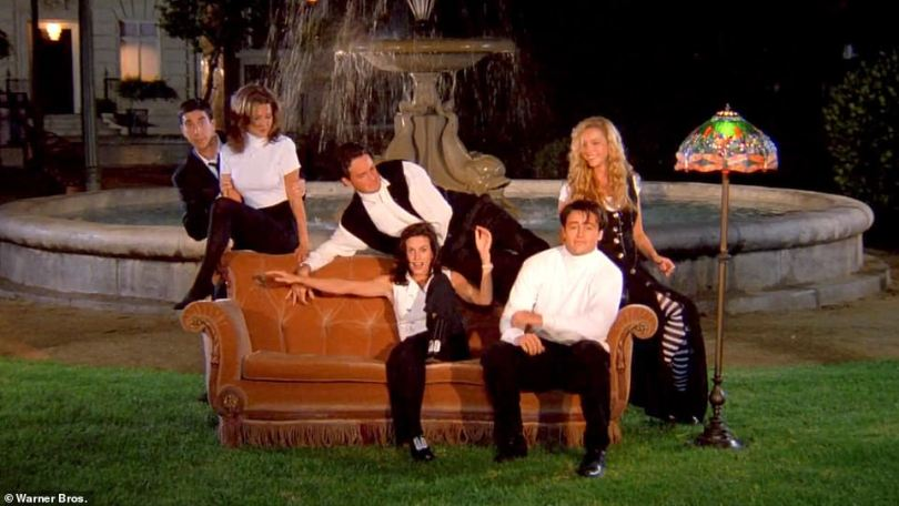 I'll be there for you: The series ran for 10 seasons, premiering in 1994 (pictured). The final episode, which aired in 2004, broke records with more than 50 million viewers