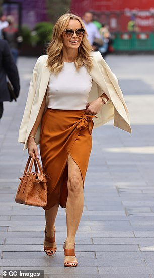 Wraparound: Amanda'skirt featured wraparound detailing