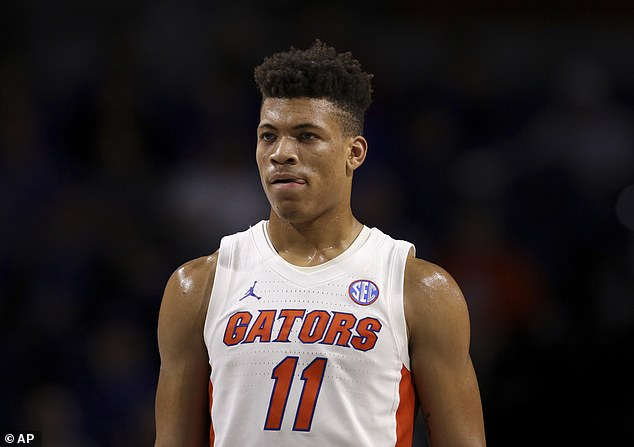 Cardiac MRIs caught 85% more cases of heart inflammation known as myocarditis rather than standard screenings. Florida guard Keyontae Johnson (pictured) became the most high profile case of myocarditis last year, when he collapsed during a game against Florida State