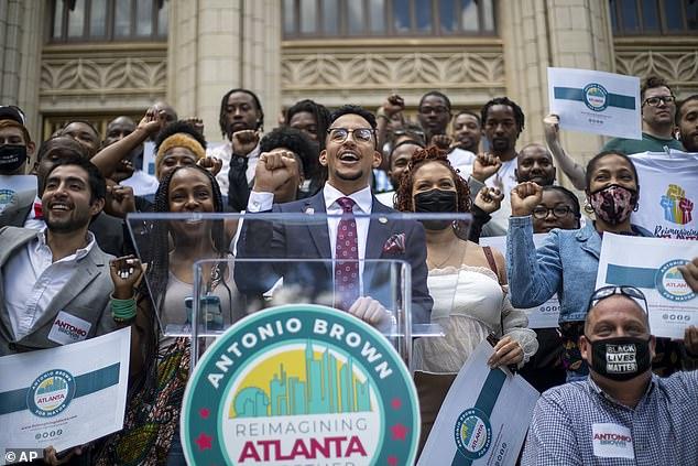 Atlanta City Councilman Antonio Brown was the victim of a car theft on Wednesday morning