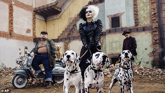 One to watch: Cruella is the latest Disney venture inspired byOne Hundred and One Dalmatians and stars Emma Stone in the titular role