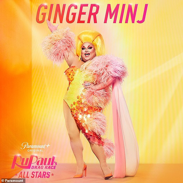 'I know that I'm ready to win!' Ginger Minj also made it to runner-up during the seventh season, but he placed eighth in RuPaul's Drag Race: All Stars season two