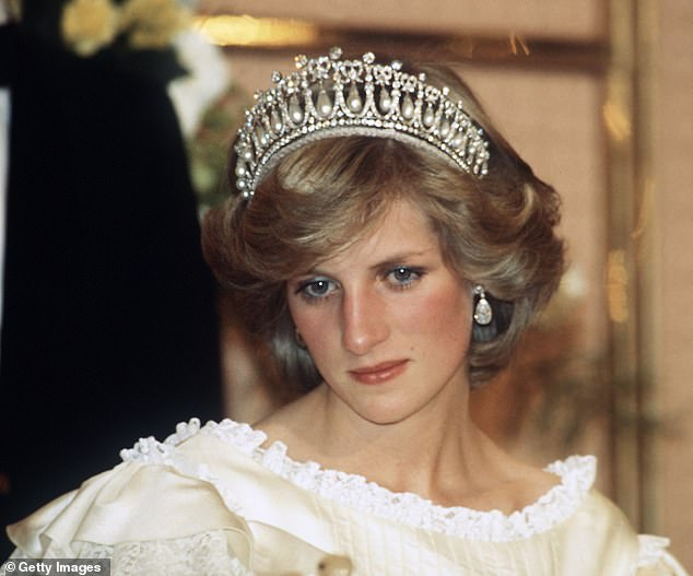 Portrait: Pop singer Spears chose a photo from this series of the late Royal, by photographer Anwar Hussein who she credited in the post