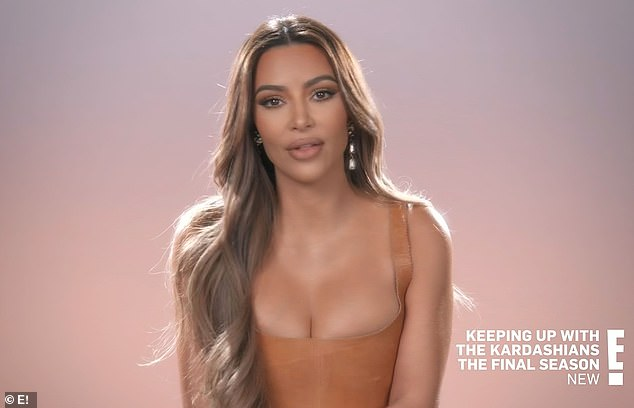 Emotional gift:'We all got such chills, like sobbing,' Kim said in a confessional. 'It was so real, and so emotional, and so lifelike, and such a trip. And hearing my dad talk to me about law school and my journey was just the sign that I needed to really continue my journey'