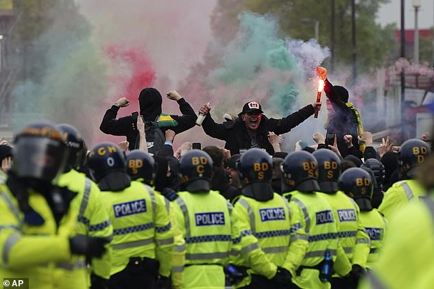 Fan protests in England forced Premier League clubs to think again over Super League plans