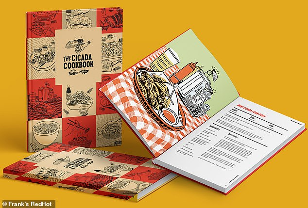 Frank's RedHot has release a digital Cicada Cookbook, which comes with 13 recipes for hot sauce-infused cicada dishes