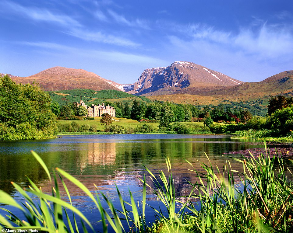 Pictured above is River Lochy in Scotland with Ben Nevis as the breathtaking backdrop