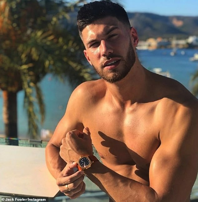 Buff:The 2018 contestant admits he was one of many former stars to let their body standards slip post-show courtesy of work commitments