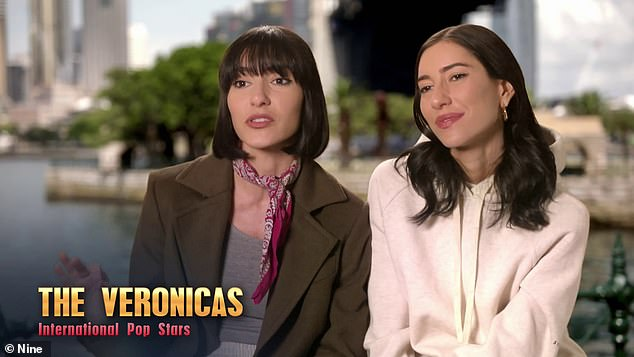 Angry: The Veronicas are currently starring on The Celebrity Apprentice Australia, but the sisters have been vocal about their displeasure with how they've been portrayed on the show