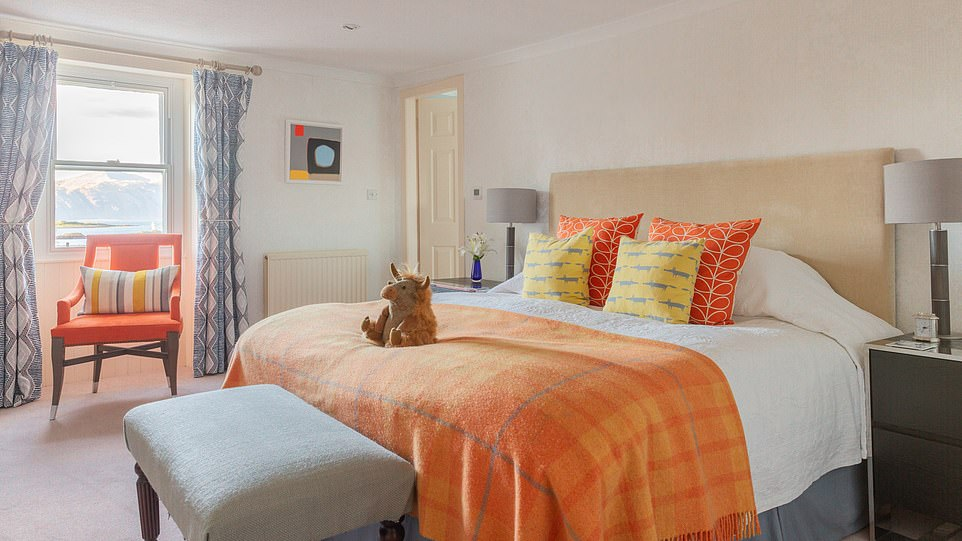 There are 11 rooms, all decorated differently, plus a couple of cottages for families and those after a longer stay