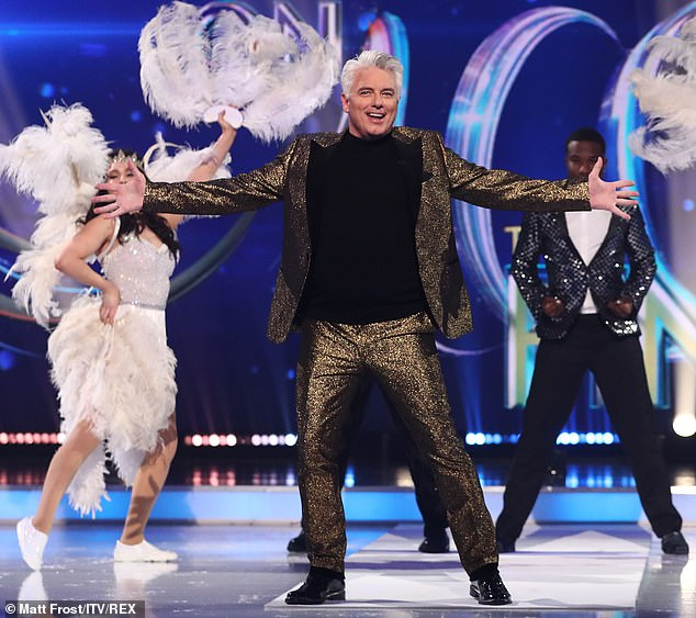 Claims: John Barrowman's 'place on the Dancing On Ice judging panel hangs in the balance' after he admitted he repeatedly exposed himself on Doctor Who, it was reported on Saturday