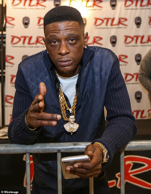 Shots fired:Gunfire erupted on the set of Boosie Badazz' music video shoot on May 29, leaving one person critically injured