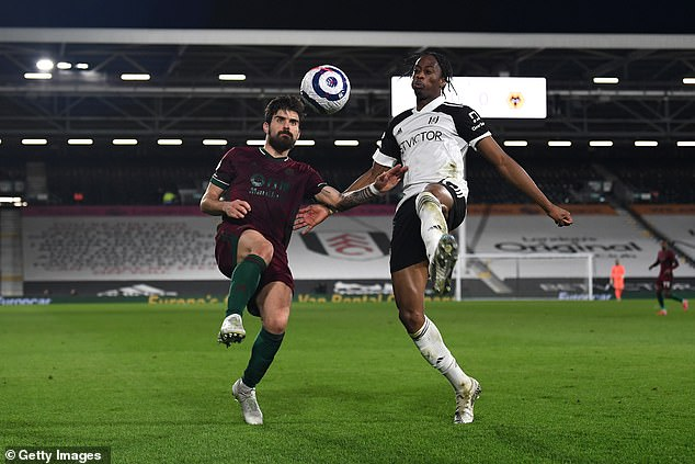 Fulham's £4m summer signing Terence Kongolo played just one league game all season