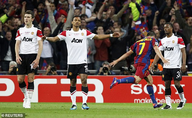 The Frenchman featured in two other Champions League finals for United, but lost both to Barcelona