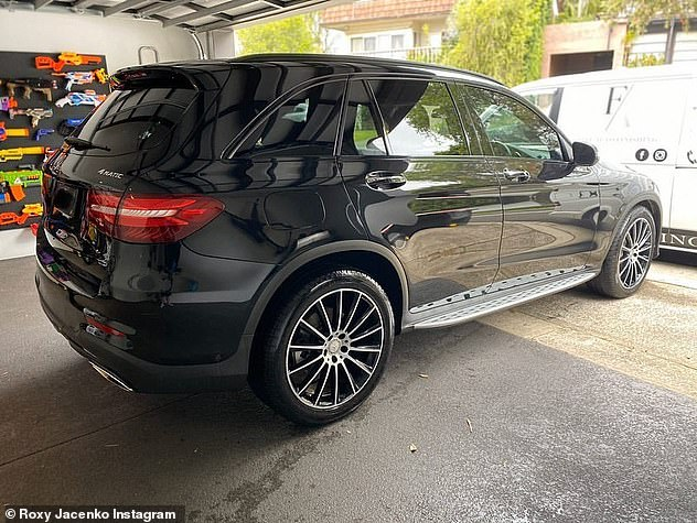 Driving mum mad:In December last year, Roxy copped backlash from fans after she purchased a $84,500 car for her daughter.The PR mogul pointed out that obviously her daughter 'doesn't drive the car'