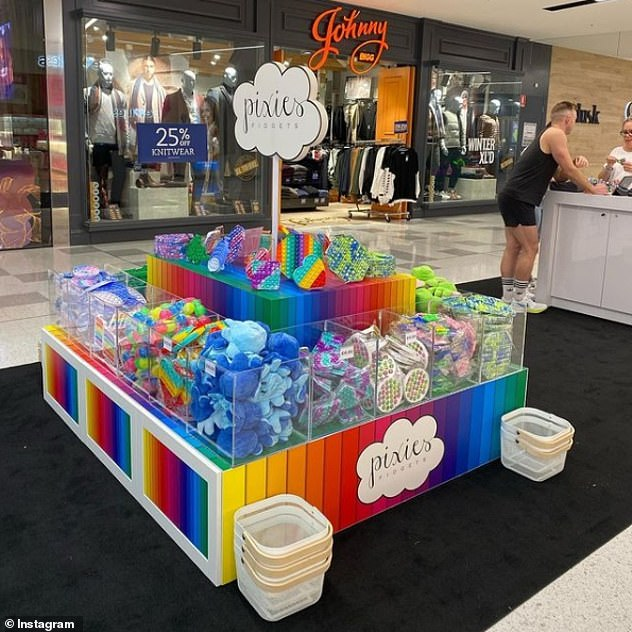 Nice!In May, Pixie's line of fidget toys sold a mammoth $200,000 worth in their debut month across Australia