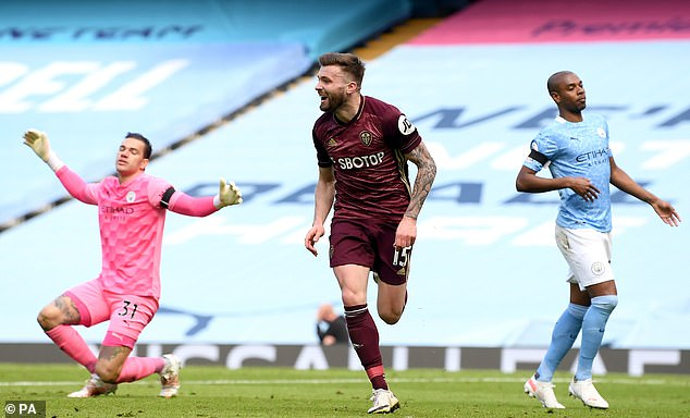 Leeds United recorded an excellent victory against champions Manchester City last month