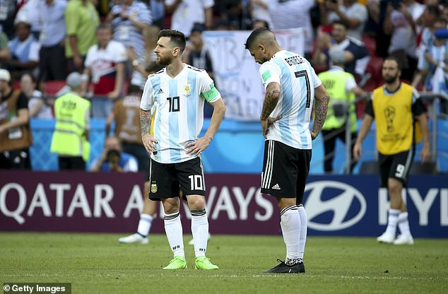 Lionel Messi's Argentina were dropped as a host country due to the rise in Covid-19 infections