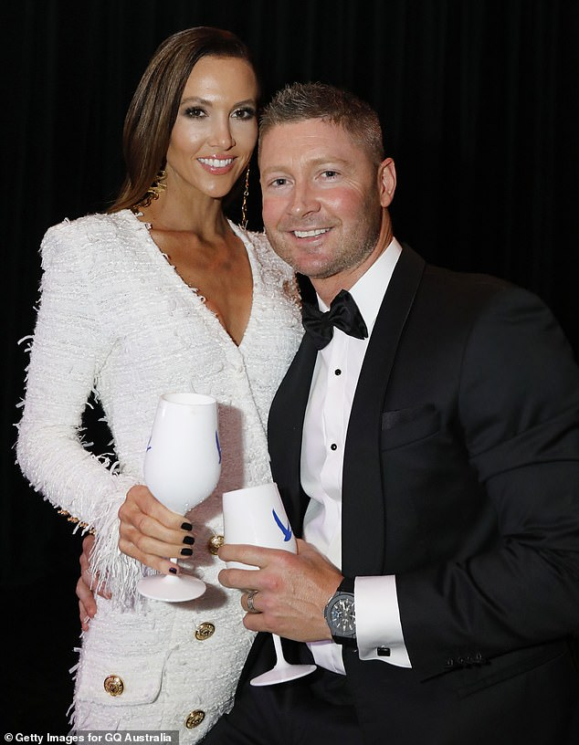Back together? Michael and Kyly - who were married for seven years before calling it quits in September 2019 - enjoyed a getaway in Sydney's Palm Beach over the weekend, with their five-year-old daughter, Kelsey Lee. Pictured together in November 2018
