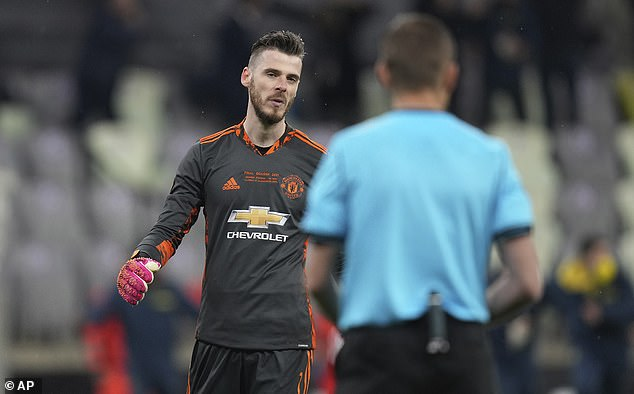 De Gea failed to make a single penalty save before missing his own spot kick as United lost