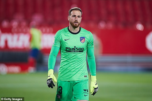 Jan Oblak has left the door open for a move, but has insisted he's happy at Atletico Madrid