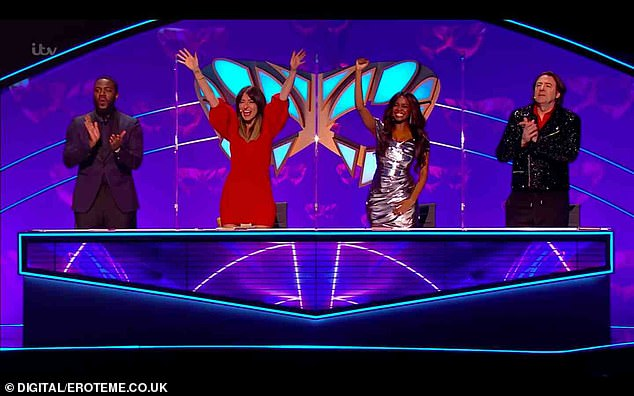 Line-up:He sits on a panel alongside Mo Gilligan,Davina McCall, and newcomer to the franchise, Oti Mabuse