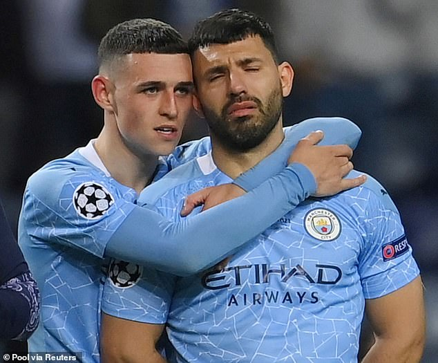Aguero's final game for Manchester City ended in defeat in Saturday's Champions League final