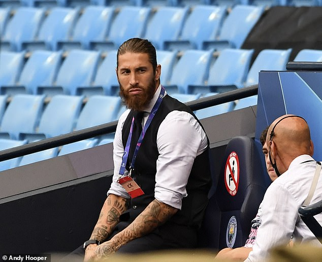 Ramos' contract at Real will expire on June 30 with a crucial meeting taking place on Friday
