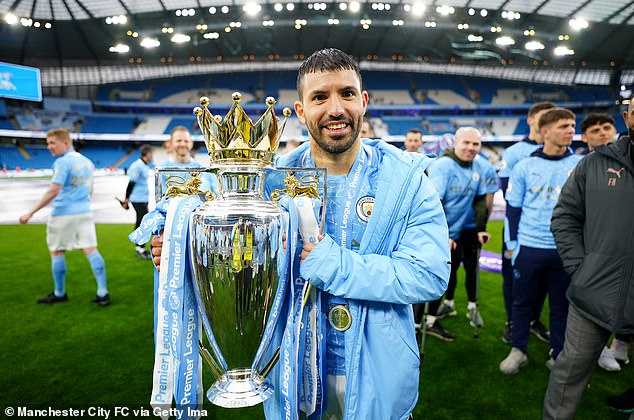 Aguero is City's all-time record goalscorer with 260 goals in 10 years at the Etihad Stadium
