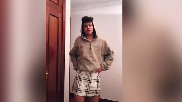 Males in Spanish schools wear skirts to break gender norms